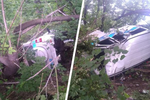 Водитель автомобиля был трезв