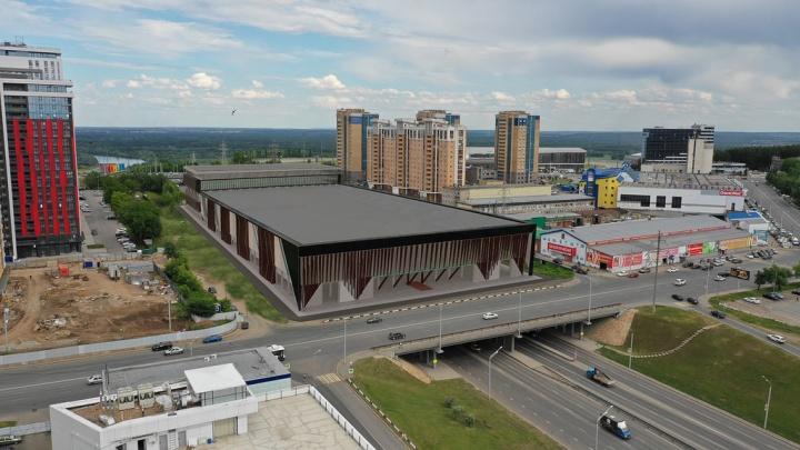 В Уфе планируют построить Ледовый дворец за 3 миллиарда рублей