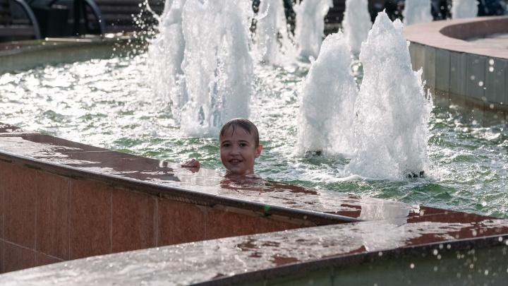 Погода в Кузбассе побила рекорд 20-летней давности. Синоптики рассказали, где было жарче всего