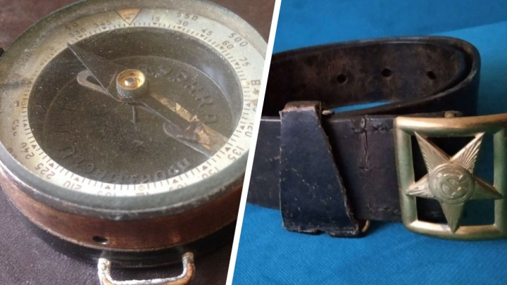 Ремни, компас и радиоприемник: какие вещи военных времен можно найти на «Авито» в Екатеринбурге