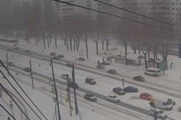 ДТП произошло сегодня днем на улице Братьев Кашириных