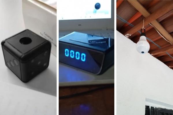 Камера в виде игральной кости, камера спрятана в настольных часах, камера в лампочке — фото российских покупателей из отзывов на «Алиэкспрессе»
