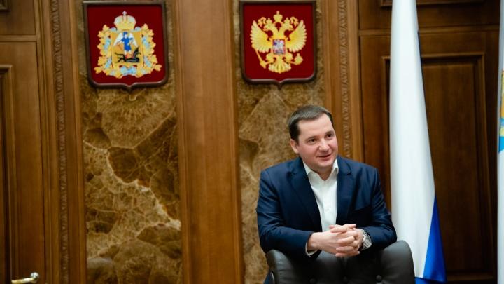 «Мужчина всё делает ради женщины»: губернатор Александр Цыбульский поздравил северянок с 8 Марта