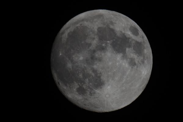 Луна приблизилась максимально близко к Земле