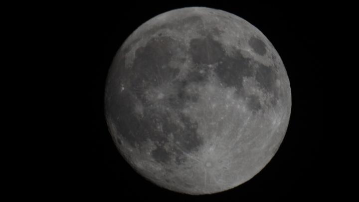 «Небо не обещало красивых кадров»: новосибирец смог запечатлеть огромную Луну
