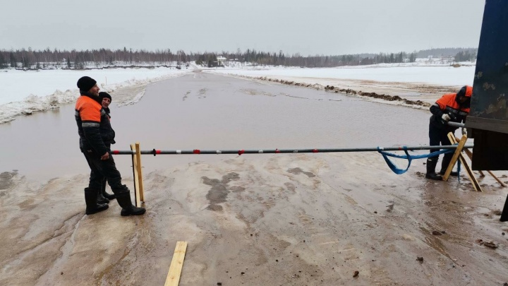 В Архангельской области начали закрывать ледовые переправы: рассказываем, где именно