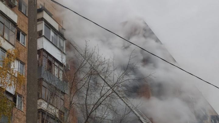 Дом прогорел насквозь: какие еще разрушения зафиксировали на крупном пожаре в центре Самары