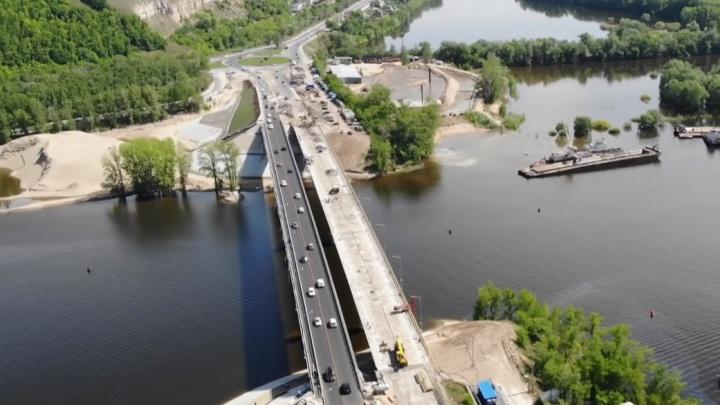 Старый мост через реку Сок закрыли для движения транспорта