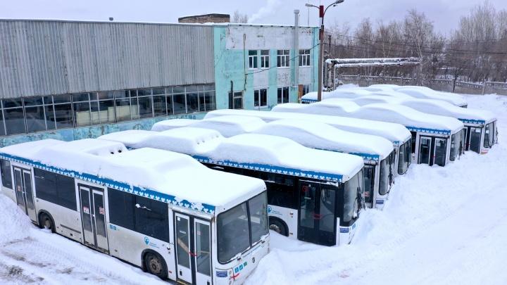 «Бардак и раздолбайство»: уфимцы раскритиковали «Башавтотранс» после публикации о кладбище автобусов