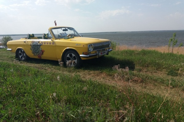 Хозяин машины рассказал, что ездил на «Волге» в Крым