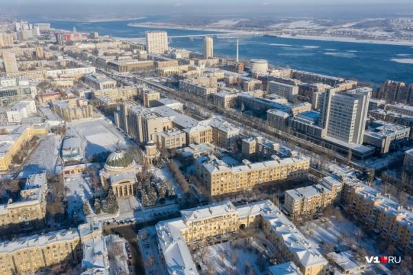 Местами температура в Волгоградской области опустится почти до 30 градусов