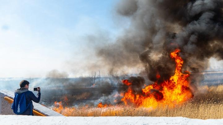 Синдром выгорания. Кто виноват в пожарах в Омской области?