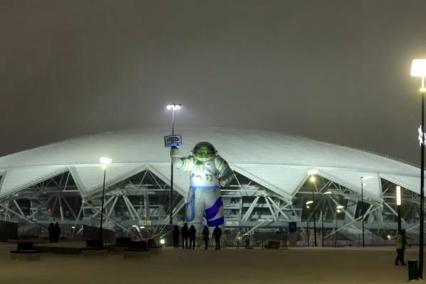 """В этом году территория у «Самара Арены» стала <a href=""""https://63.ru/text/winter/2021/01/06/69681681/"""" target=""""_blank"""" class=""""_"""">космической гаванью</a> — здесь сделали большую музейно-выставочную зону под открытым небом"""