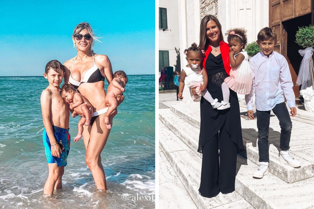 У Александры трое детей