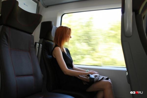 Поезд будет состоять из пяти вагонов