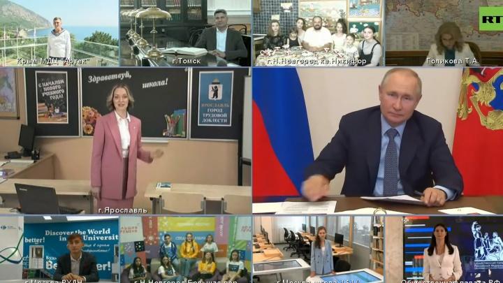 Учительница из Ярославля пожаловалась Владимиру Путину на образ педагога из «Наша Russia»