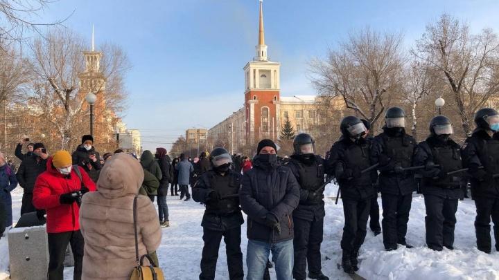 «Кольцо сужается»: протестующим перекрыли выход с Красной площади