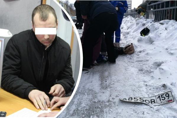 Виновник ДТП сам пришел в полицию и написал явку с повинной