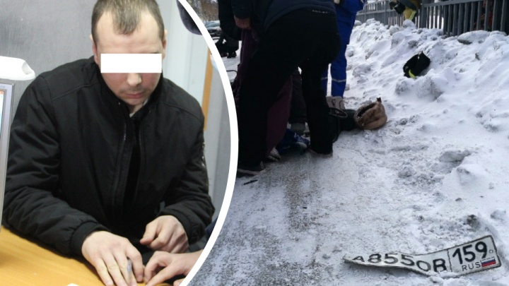 Лихача, который на Урале насмерть сбил двух бабушек на пешеходном переходе и скрылся, арестовали