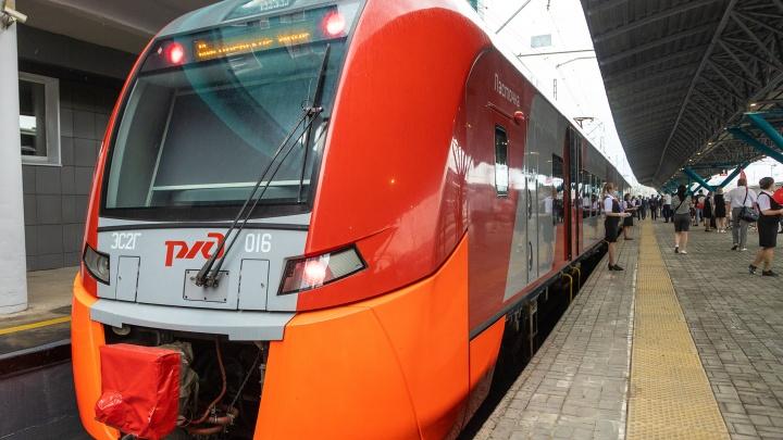 В Самаре изменили расписание скоростного поезда «Ласточка»