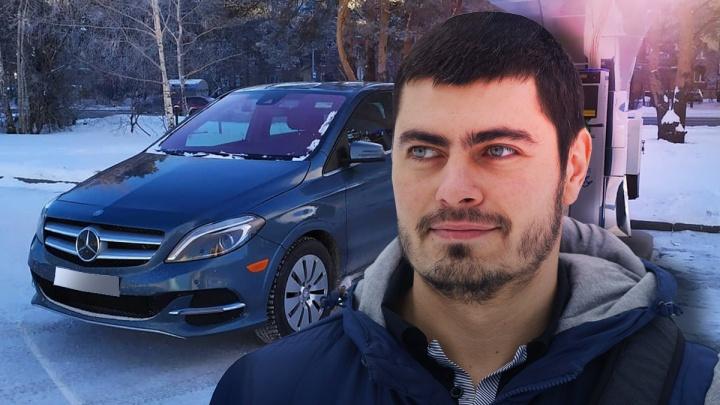«Большой смартфон на колесиках»: тюменец — о том, как электромобиль переносит суровую зиму