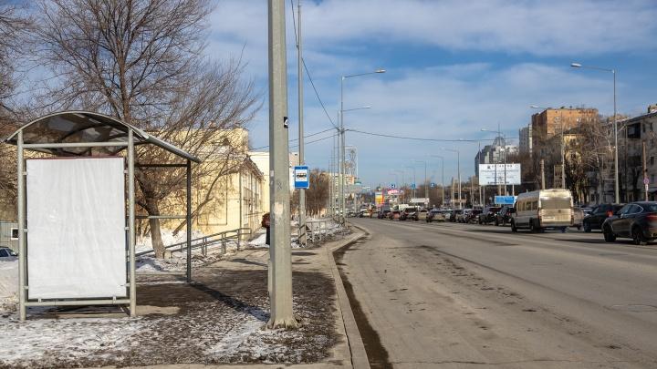 На Ново-Садовой сократят количество остановок общественного транспорта