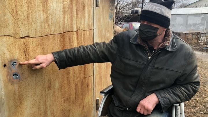 В Волгограде чиновники начали сносить гараж— единственное жилье инвалида-колясочника