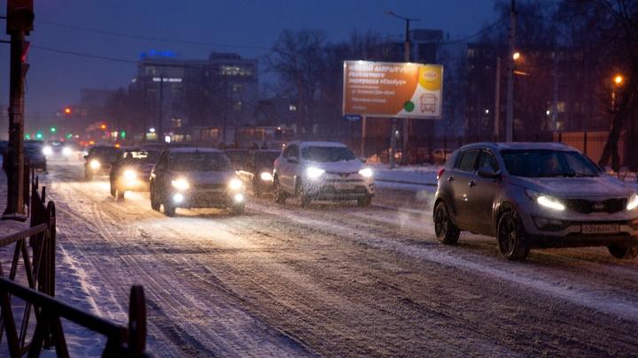 В Ярославле на ночь закроют для парковки часть крупного проспекта