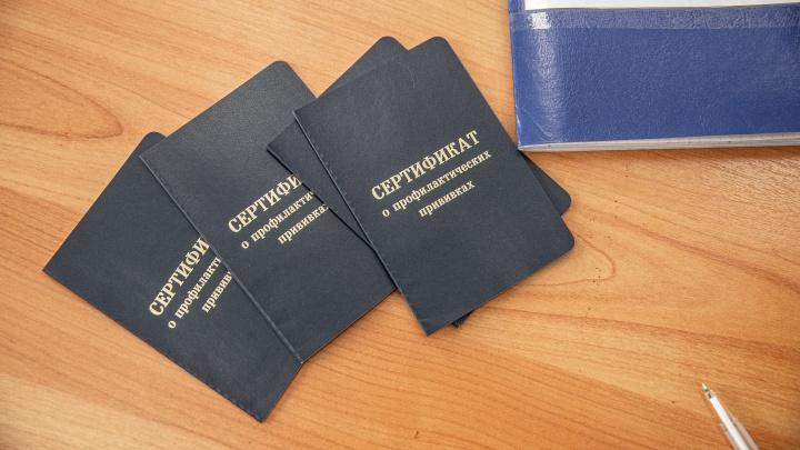 Новосибирская полиция назвала число проверок из-за продажи сертификатов о вакцинации и поддельных ПЦР-тестов