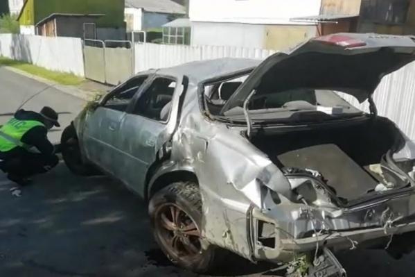 Авария произошла прошлой ночью