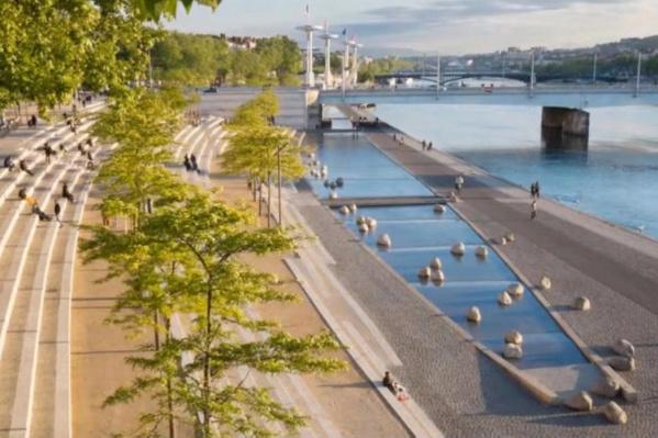 Концепция проекта, по словам Калинича, вдохновлена примерами благоустройства из европейских столиц