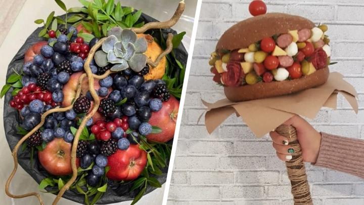 Бизнес в декрете: как пермячка стала делать букеты из еды, понимая, что не хочет возвращаться на старую работу
