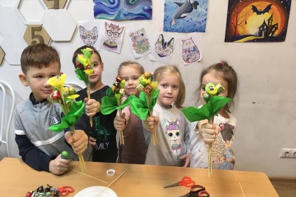 Детская студия родилась из одноименной интеллектуальной игры, которую Ирина вместе с партнерами придумала много лет назад для телевидения