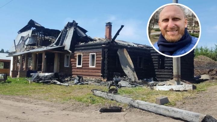 Шоумен Гавр попросил пермяков помочь в восстановлении сгоревшего монастыря на родине его деда