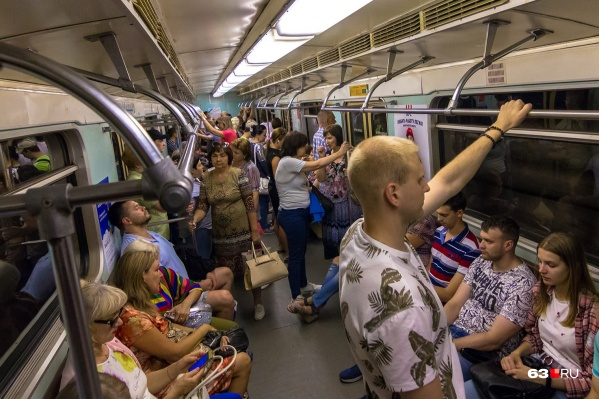 Пока Самара остается единственным городом области, где есть метро