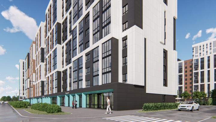 Необычные фасады, двор и название: в новостройке рядом с метро продают квартиры в ипотеку от 1%