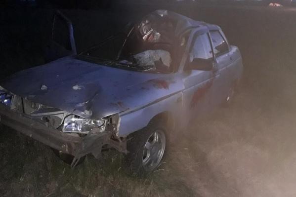 Авария произошла ночью в минувшие выходные