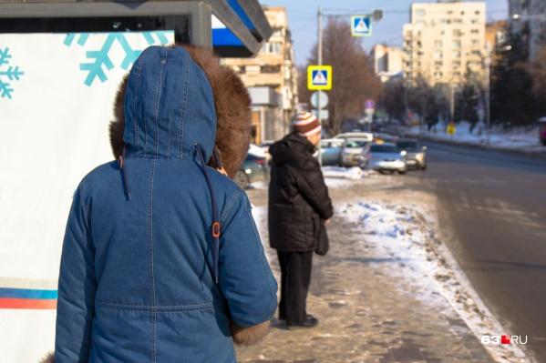 Горожане уже опасаются, что им придется долго ожидать нужный транспорт