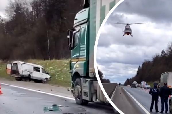 ДТП случилось на Ярославском шоссе