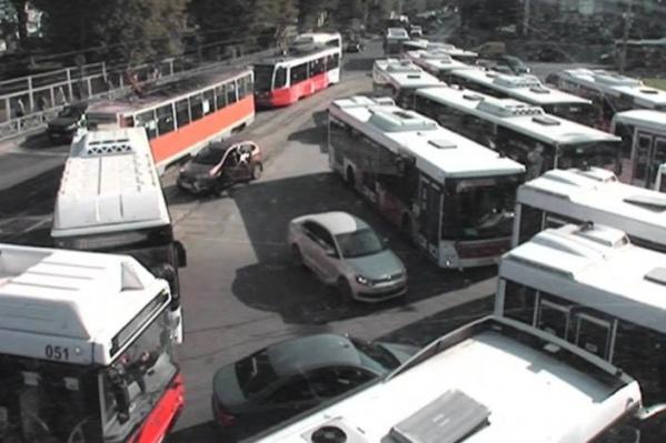 Сколько насчитали автобусов?