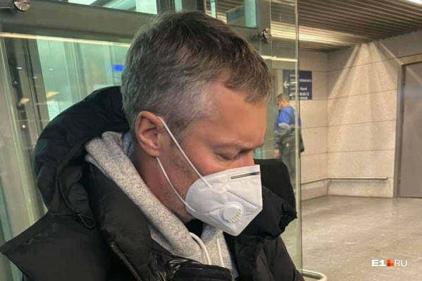 Евгений Ройзман был среди тех, кто хотел встретить Алексея Навального
