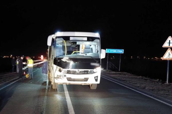 Водитель автобуса был трезвый