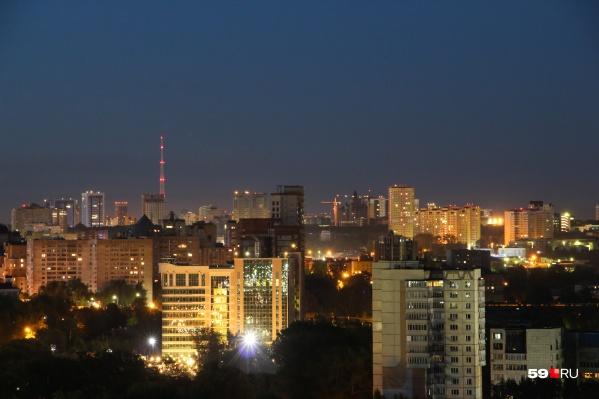 С подсветкой на домах ночной город станет еще ярче