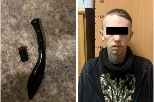 Эта модель ножа называется кукри, с ним преступник напал на свою жертву