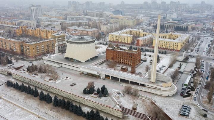 В Волгограде закроют в строительные леса «штык» музея-панорамы «Сталинградская битва»