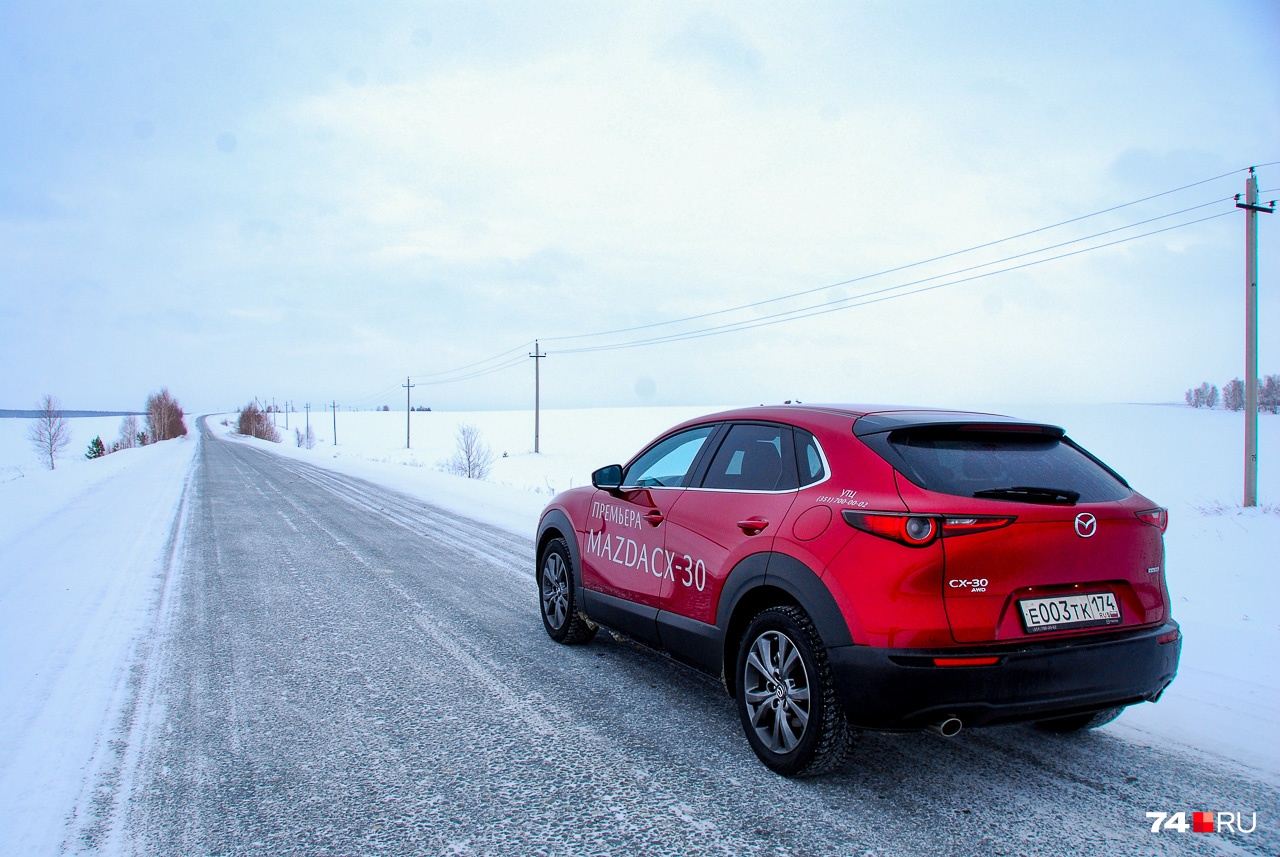 Mazda CX-30 в традициях семьи больше любит ровный асфальт
