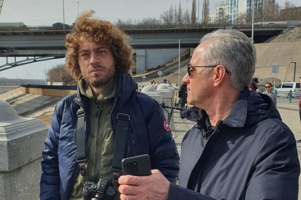 Варламов лично побывал в Уфе и побеседовал с мэром Сергеем Грековым