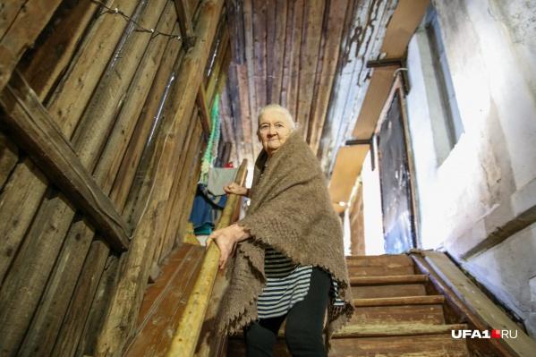 Венера Янгузарова живет в доме на Пушкина более 60 лет