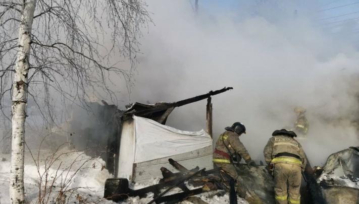 В Сургуте выяснили причину пожара в дачном обществе «Здоровье», где сгорели дети