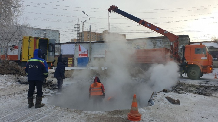Больше 20 домов и госпиталь остались без отопления в Октябрьском районе